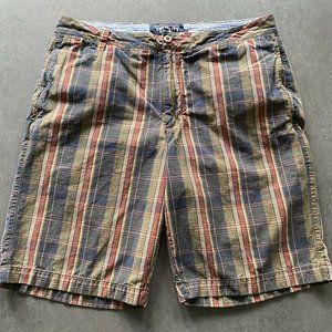 Other - The New Ivy Shorts Mens Size 38 Plaid Casual